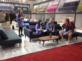 Faules Möbel-Wohnzimmer-faules Sofa-Bett