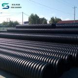Труба из волнистого листового металла PE стальной полосы HDPE усиленная составная