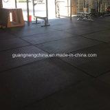 De rubber RubberMat van de Gymnastiek van de Tegel van de Vloer