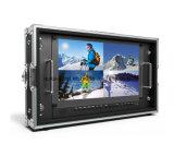 "15.6 "" 4k 3840*2160Uitzending Directeur Monitor met 3G-Sdi, HDMI, DVI"
