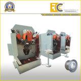 Hydraulische halbautomatische Auto-Felgen-Rolle, die kleine Maschine (Zeile, bildet)