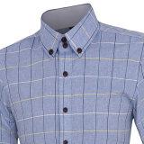 Chemise de robe de chemise de polyester de mode longue (A417)