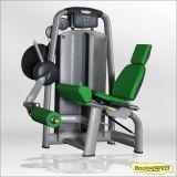 Máquina assentada comercial da extensão do pé do edifício de corpo do equipamento da aptidão da ginástica barata quente