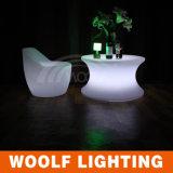 LED 현대 RGB 둥근 커피용 탁자
