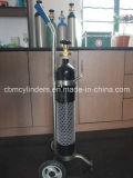 Cilindri di ossigeno d'acciaio della fabbrica 10L della Cina per gli usi medici O2