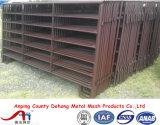 Panneau ovale de frontière de sécurité de garantie d'affouragement animal d'animaux d'élevage de la pipe 1.8*2.9m