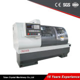 China Máquina CNC torno horizontal para o aço CK6140b