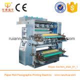 Impresora plástica del bolso de compras de Flexo con el color 2