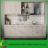 2017 novo e moderno mobiliário de armário de cozinha Branco Brilhante