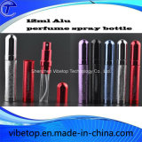 Garrafa de perfume com spray de alumínio recarregável com venda a quente