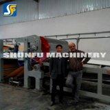 Máquinas pequenas da fabricação que fazem a cartão o cartão de papel