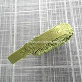 帆立貝の端ブラストラップおよび肩テープのための単一カラーサテンのジャカードゴム