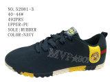 No 52081 ботинки PU Upeer ботинок людей вскользь Stock