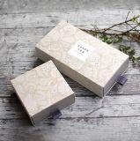 Alto grado de estilo chino - Blanco - Tarjeta - Caja de papel de Té de estilo creativo Spot Jabón manual plegable Embalaje Caja de regalo para el fin Whol