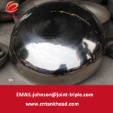 testa ellittica del piatto dell'acciaio inossidabile 01-16-Small con il polacco dell'estremità 1600mm*12mm del contenitore a pressione di ASME