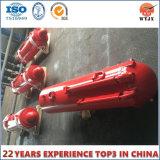 Cylindre hydraulique de support pour le matériel d'extraction au fond