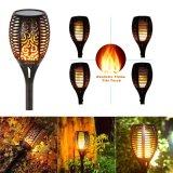 태양 정원 야드 잔디밭 통로 Halloween LED 토치 프레임 빛 램프