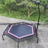 Trampolín comercial hexagonal del amortiguador auxiliar para el uso de salto del club de aptitud