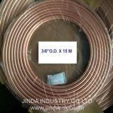"""3/8 """" di bobina molle del rame della bobina del pancake di temperamento del O.D. ASTM B280"""