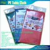 Entrega rápida barata PE Tapa de la mesa de plástico desechables