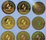 Het Zelfklevende Etiket van de Stickers van het hologram