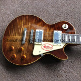 1959 R9 Tiger topo chama Lp guitarra eléctrica (BPL-522)