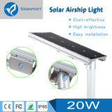 Luz de calle solar de la alta calidad al aire libre LED para la aldea