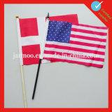 Полиэстер Custom стороны флаг с полюса