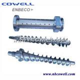 Calidad superior de PVC tornillo del barril de Línea de procesamiento de PVC