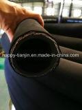 Boyau hydraulique R16 de tresse à deux fils superbe de câble