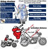 カスタム生産の防水オートバイのブラジルのフランスの警察のエアバッグのジャケットのベスト