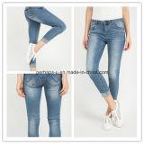 Jeans di stirata del cotone di modo del Pantyhose del denim delle nuove donne