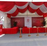 Im Freien Ausstellung-Partei-Ereignis-Zelt, Futter und Vorhang-Dekoration
