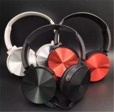 Micが付いている良質アルミニウムステレオ3.5mm携帯電話のヘッドセット