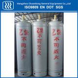 Bombola per gas industriale dell'acciaio inossidabile
