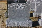 Похожие отели Китая черного гранита Angel пустым Headstone сердца за грубые, Tombstone
