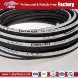SAE 100r1at/DIN EN 853 1SN Le flexible hydraulique de caoutchouc de haute qualité