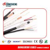 El cable coaxial RG59 2c de la transmisión de largo