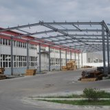 Q345 Estructura de acero de la luz de almacén