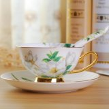 Britannici progettano tazza ed il piattino di tè di ceramica della tazza e del piattino della porcellana del piattino e della tazza