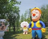 Altezza gonfiabile di 3.5m che fa pubblicità alle pecore piacevoli dei prodotti per la pubblicità