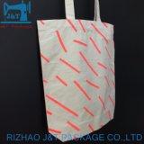 Duradero personalizada Ecología resistente cordón de algodón orgánico Bolsa Bolsa de Productos reutilizables.