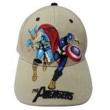 Gorra de béisbol caliente de la venta de los cabritos con la insignia Kd44