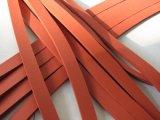 Extrusion fermée d'éponge de silicones de cellules, profil d'éponge de silicones, cordon d'éponge de silicones avec la couleur rouge