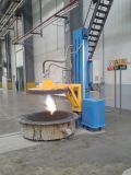 Flüssiges Metallgußteil verwendeter Schöpflöffel, der Maschine vorwärmt