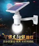 Impermeabilizzare la lampada della rete fissa del giardino dell'indicatore luminoso della parete del sensore dell'indicatore luminoso di energia solare dei 6 LED