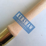 Круглая щетка (Paintbrush с чисто белой ручкой древесины щетинки и бука, наклонять-круглой щеткой)