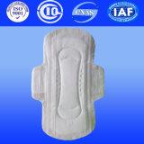 Lady anion tampon sanitaire pour les femmes Tampon d'hygiène pour les femmes serviette hygiénique avec papier Airlaid