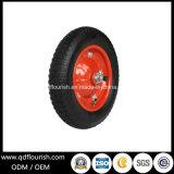 Rotella della gomma del pneumatico 3.25-8 della carriola per i carrelli del carrello