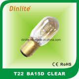T22 Ampoule à incandescence le marquage CE et RoHS